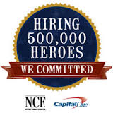 Committed to hiring 500,000 of our heroes