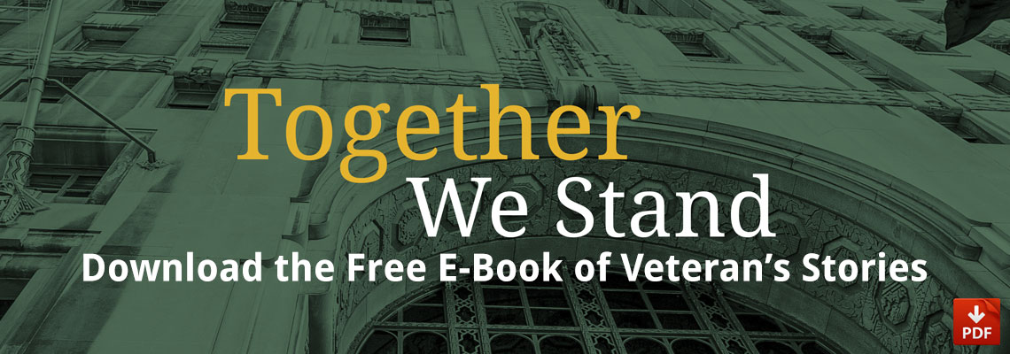 Veterans Stories: Together We Stand E-Book